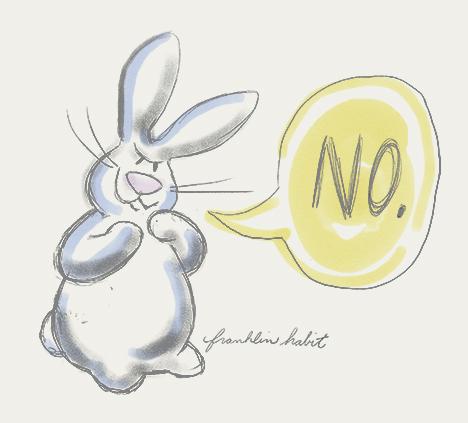 bunny-no